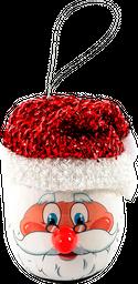 Bola Navidad Sombrero Santa Led Expressions Christmas  Blanco