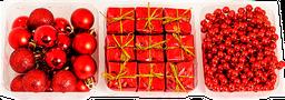 Set Decoración Navidad Expressions Christmas  Rojo