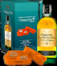 Rappicombo Whisky Singleton 700ml + Molde de hielo
