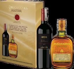 Rappicombo Whisky Buchanans Master 750ml + Vino 3 Medallas
