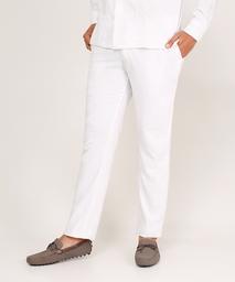 Pantalón Para Hombre De Lino Tono Blanco Hueso