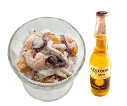 Ceviche Caribe GRANDE + Corona