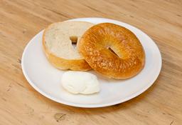 🍩 Bagel con Queso Crema