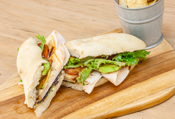 🥪 Sándwich Jamón de Pavo