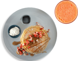 Combo Pancakes fratelli + Jugo Natural Mandarina