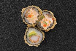 Sushi Gratinado de Camarón