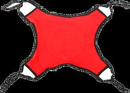 Hamaca Para Gatos Argos  Rojo con Negro