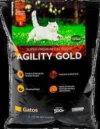 Concentrado Para Gatos Agility Gold 500 gr.