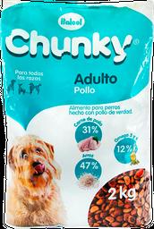 Concentrado Para Mascotas Adulto 2kg Chunky