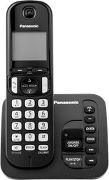 Teléfono Panasonic Inalámbrico con Panel LCD