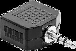 Adaptador y Stereo AD 132 P/2 Genius