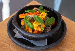 Ensalada de Frutas y Zanahoria