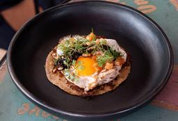 Taco Huevo y Nopal