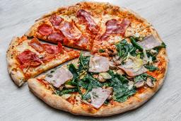 Pizza por Mitades Súper