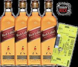 Rappicombo Johnnie Walker Red 1 litro + Boleta para Cosquín