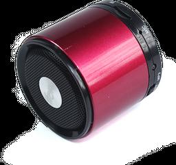 Mini Cube Speaker Cs-310 Rojo