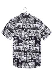 Camisa Manga Corta Slim Fit Comic-