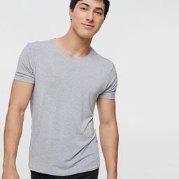 Camiseta Hombre Básica Gris