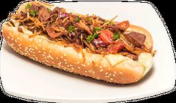 Hot Dog Saltado
