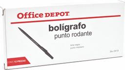 Boligafo Office Depot Ng C/12