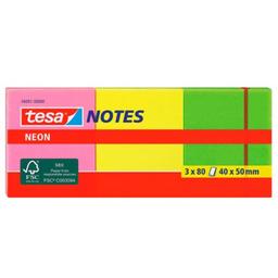 Notas Adhesiv 40X50Mm Neon X3