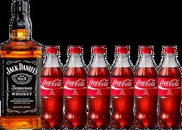 Rappicombo Jack Daniel's No 7 + 6 Coca Colas 250ml GRATIS