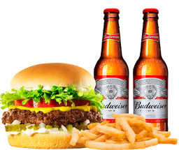 Combo Budweiser by Johnny Rockets