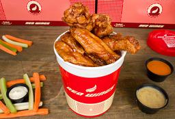 6 wings + Porción Palitos de Yuca + Bebida
