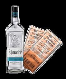 Tequila Blanco Jimador + 2 boletas Bruno y Presea