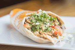 Shawarma con Tabuleh