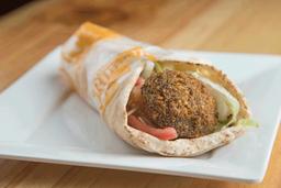 Sándwich de Falafel (Vegetariano)
