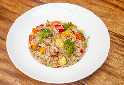 🥘 Arroz Vegetariano
