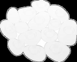 Apliques Para Ducha Set x 6 Piezas Interdesign