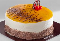 Torta Maracuyá 1/6 Lb. (4 - 6 Porciones)