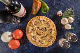 Pizza Champiñón Pollo