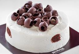 Torta de Chocolate 1/6 Lb. (4 - 6 Porciones)