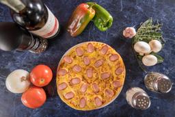 Pizza Salchicha Alemana