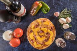 Pizza Prosciutto Melocotón