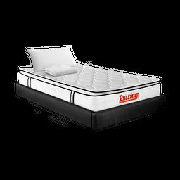 Colchón Pullman Orthoflex Btu Semidoble + Base + Lencería