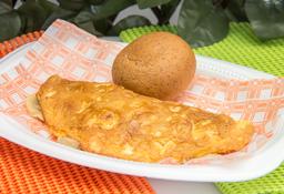 Omelet Pollo y Champiñón