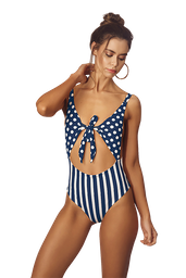 My Neighbor's - Anchor Blue One piece