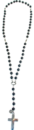 Collar Doble De Rombo Turquesa Piedra Semipreciosa (Turquesa)