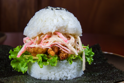 🍔🦐 Sushi Burger Langostinos