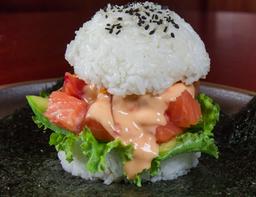 🍔🐟 Sushi Burger Salmón