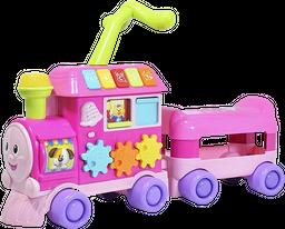 Tren montable de aprendizaje para niña