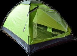 Carpa para Acampar verde Kanperz 200 x 120 x 95 cm
