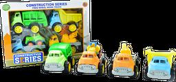 Carros de Construccion Surtidos X 4 para Niños 3 +