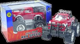 Camioneta de Fricción 4X4 para Niños  3 +  Rojo