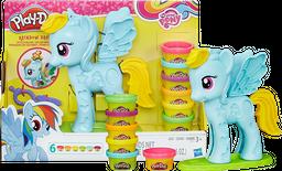 Rainbow Dash Peinados de Colores Play-Doh 3+