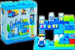 Bloques Armables Preescolar Castillo Azul Niños 3+